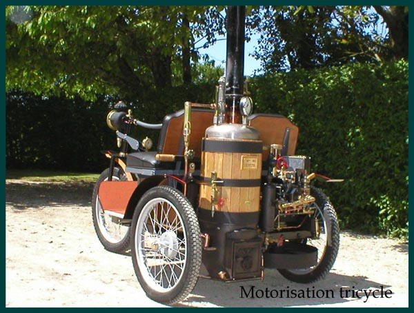 Motorisation tricycle