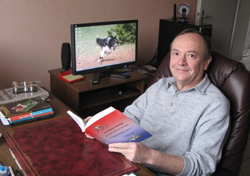 Photograph of Pierre Gras, webmaster
